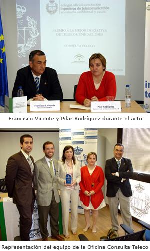 """Premio """"Mejor Iniciativa de Telecomunicaciones en el ámbito de las Administraciones Locales"""""""