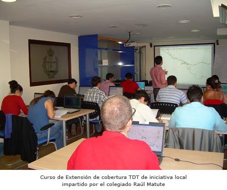 Curso de Extensión de cobertura TDT de iniciativa local