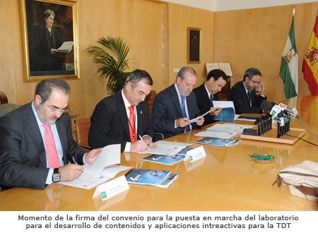 Firma Convenio con Diputación