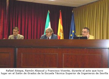Acto de presentación del informe sobre la formación del Ing. de Telecomunicación en el proceso de Bolonia
