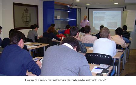 Curso de Diseño de Sistemas de Cableado Estructurado