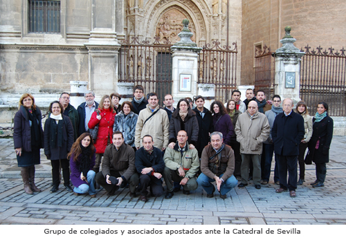 Visita a las cubiertas (Feb-2010) - Foto de grupo