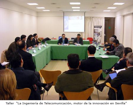 """Taller """"La Ingeniería de Telecomunicación, motor de la innovación en Sevilla"""""""