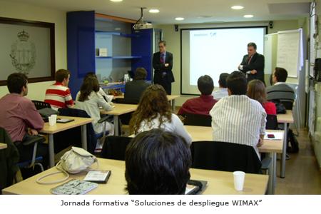 """Jornada """"Soluciones de despliegue WIMAX"""""""