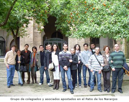 Visita a las cubiertas (Mar-2010) - Foto de grupo