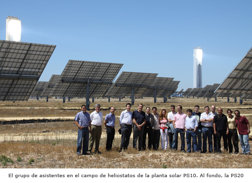 Visita a Abengoa Solar