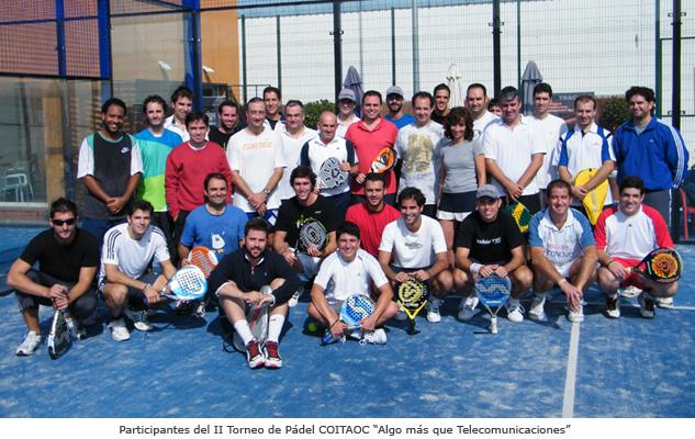 II Torneo de Pádel