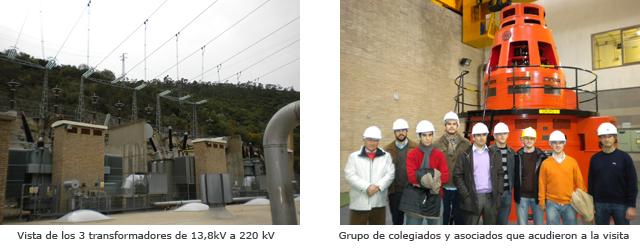 Visita a la Central Hidroeléctrica de Guillena