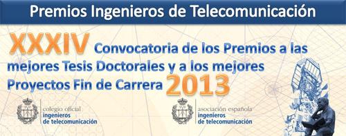 XXXIV Premios Ingenieros de Telecomunicación