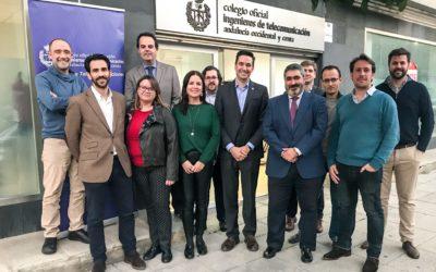 Las nuevas Juntas de COITAOC y ASITANO celebran su primera sesión de trabajo