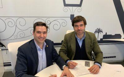 El COITAOC y BeCheckin se unen para impulsar la #TransformaciónDigital en #Andalucía