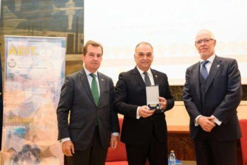 La AEIT concede la medalla de Honor de la Asociación a nuestro compañero Francisco Vicente Guillén