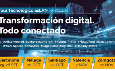 Llega el Tour Tecnológico asLAN 2019 'Transformación Digital. Todo Conectado'