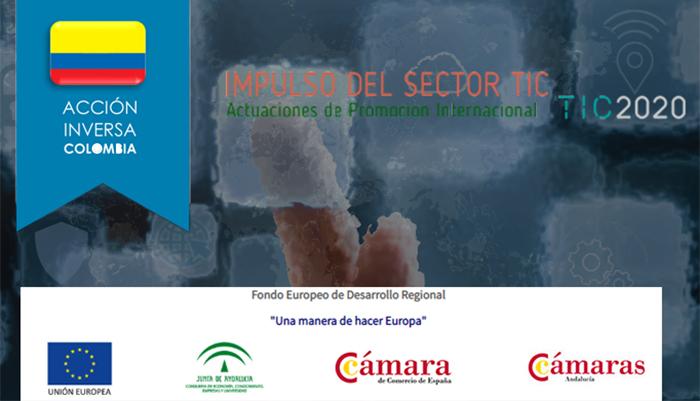 Acción comercial inversa de Colombia para Pymes TIC andaluzas