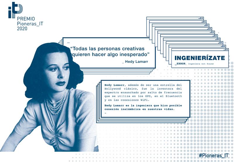 Se busca Ingenieras de Telecomunicación 'Pioneras'