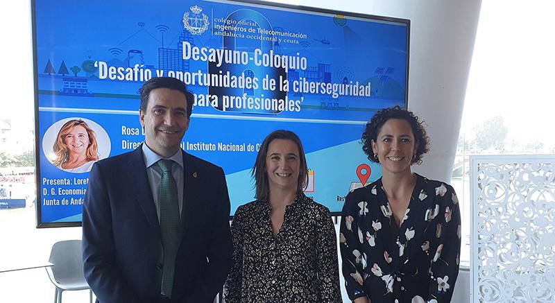 La directora general de INCIBE analiza la Ciberseguridad en España durante un nuevo Desayuno Coloquio