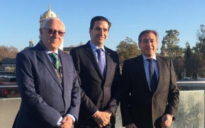 El Puerto de Sevilla presenta su estrategia de digitalización con el Colegio