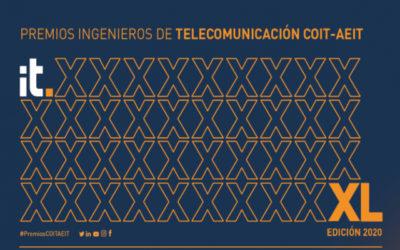 Comienza la carrera por los Premios Ingenieros de Telecomunicación COIT-AEIT 2020