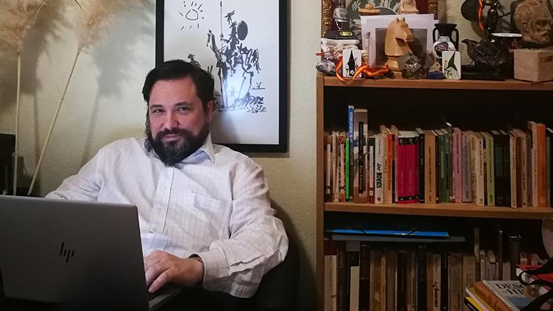 Telecomunicaciones y arte se unen en el Encuentro Digital 'DiadelLibroTeleco con José María Jurado