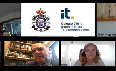 Promocionar la vocación STEM y la Transformación Digital, principales objetivos del nuevo acuerdo entre el COIT y la RAI