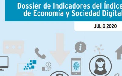 ONTSI publica el dossier de indicadores del Índice de Economía y Sociedad Digital (DESI) 2020
