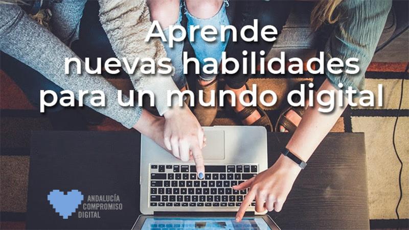 Nueva edición de cursos online gratuitos de Andalucía Compromiso Digital