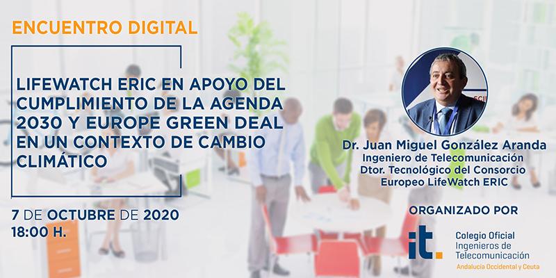 Telecomunicaciones y Medio Ambiente protagonistas en el próximo Encuentro Digital COITAOC