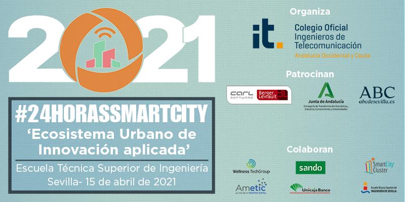 Vuelve #24HorasSmartCity para consolidar a Andalucía como Región Inteligente