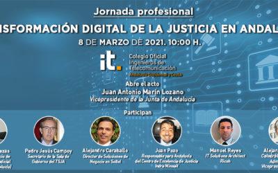 La Transformación Digital de la Justicia en Andalucía a debate en un nuevo evento profesional