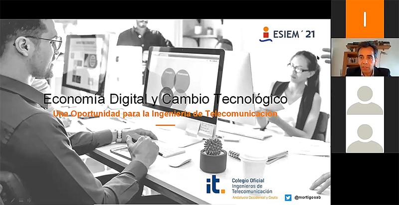 El Colegio ofrece una amplia visión del mercado laboral para el Teleco en ESIEM 21