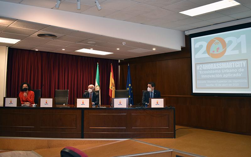 #24HorasSmartCity21 se convierte en escaparate de proyectos innovadores y soluciones tecnológicas para convertir a Andalucía en Región Inteligente